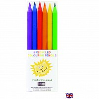 Recycled Mini 6 piece Colouring Pencil Set