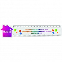 "6""/15cm Shaped Ruler"