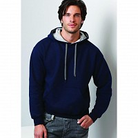 Gildan Men's Heavy Contrast Hooded Sweatshirt