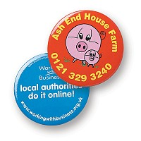 57mm Button Badge