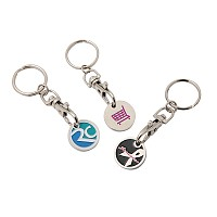 Trolley Locker Coin Key Ring