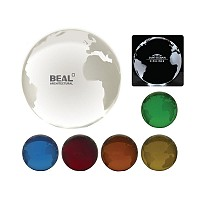 Optical Crystal 80mm Globe
