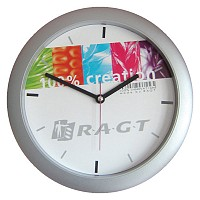 Silver Grand Wallclock