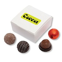 Four Choc Ballotin Box