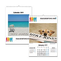 Personalised Medium Wall Calendar