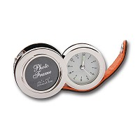 Travel Clock with Photo Frame