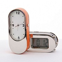 Dual Time Clock with Pouch