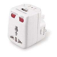 Universal Travel Adapter with USB Charging Port