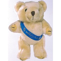 5 inch Honey Bear and Sash