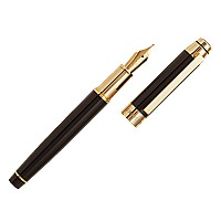CERRUTI 1881 `HERITAGE GOLD` FOUNTAINPEN