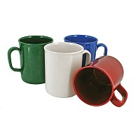 Recycled Coloured Plastic Mug
