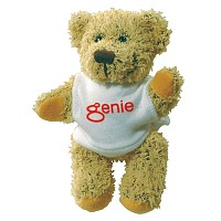 5 inch Korky Bear and T Shirt