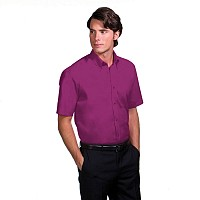 Kustom Kit Mens Short Sleeve Corporate Oxford Shirt