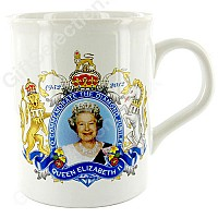 Diamond Jubilee School/Parish Council Mug