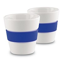 2 cup set with silicone grip