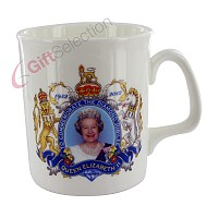 Diamond Jubilee Bone China Mug