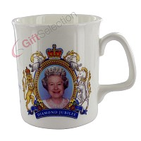 Diamond Jubilee Bone China Coronation Mug