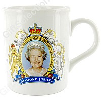 Diamond Jubilee Coronation Design Mug